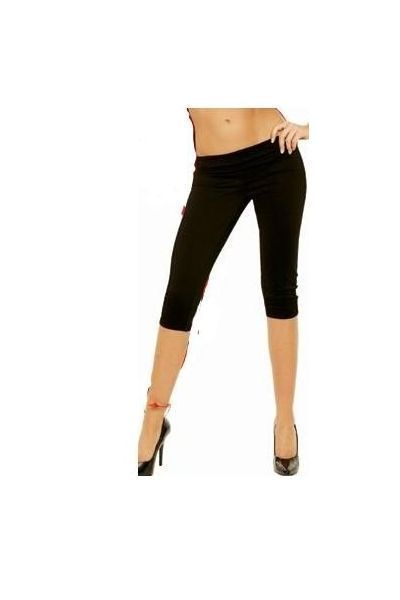 Black Clubwear Capri Pants (UK 12 - 14)