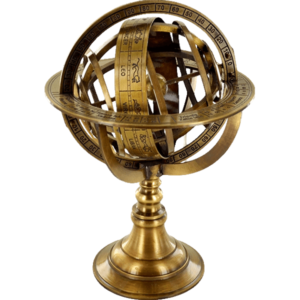 Brass Armilliary Sphere