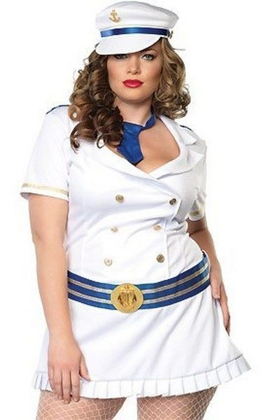 Captivating Captain Fancy Dress Costume (UK 16-18)