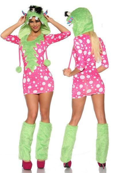 Cheeky Monster Fancy Dress Costume (UK 8 - 12)