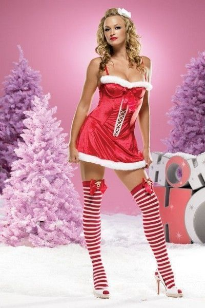 Christmas Holiday Fancy Dress Costume (UK 8 - 10)