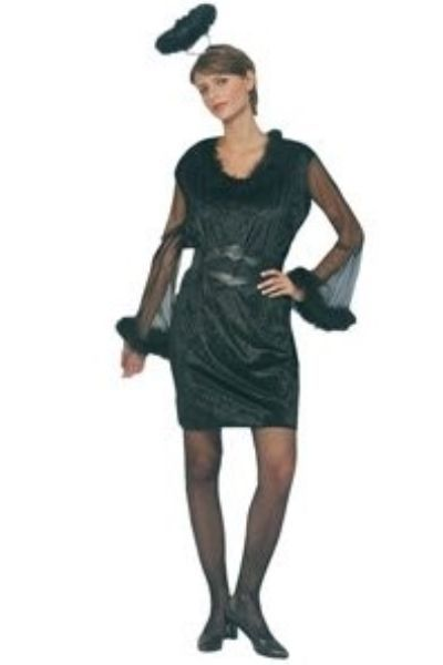 Dark Angel Halloween Fancy Dress Costume (UK 14 - 16)