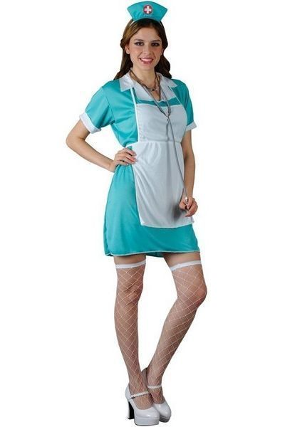 ER Casulty Nurse Fancy Dress Costume (UK 6 - 8)