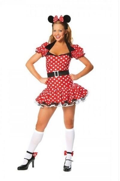 Fabulous Miss Mouse Fancy Dress Costume (UK 6 - 12)