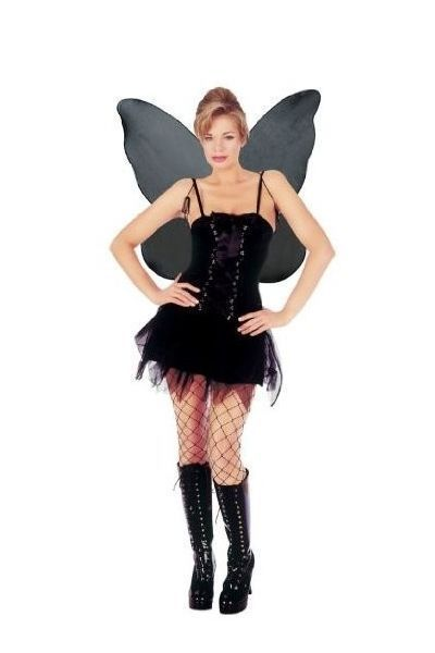 Gothic Fairy Fancy Dress Costume (UK 10 - 12)