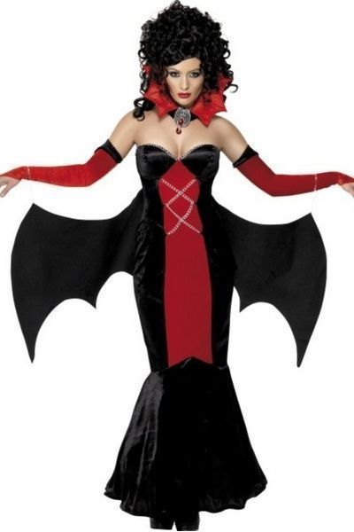 Gothic Manor Vampire Fancy Dress Costume (UK 8 - 10)