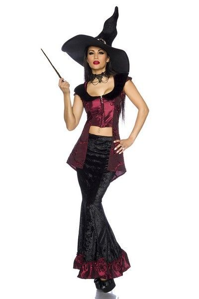 Gothic Vampire Halloween Fancy Dress Costume (UK 10 - 12)