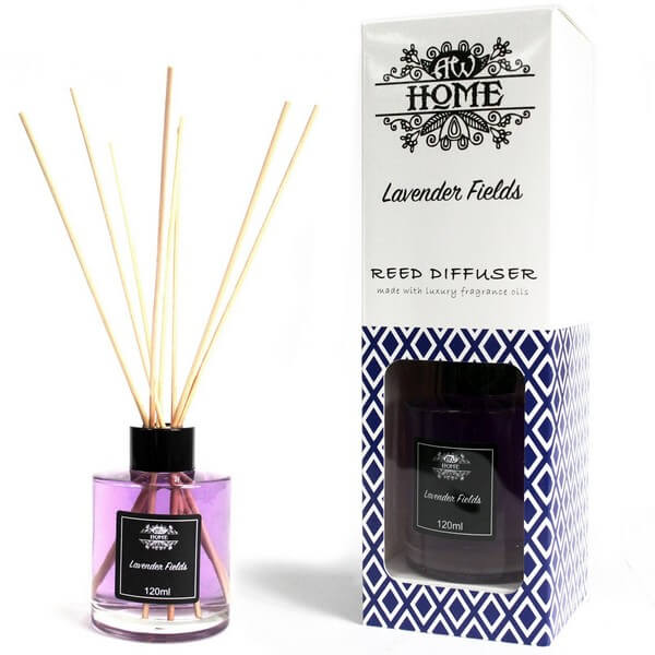Lavender Fields Reed Diffuser | Room Fragrance | Bonnebombe