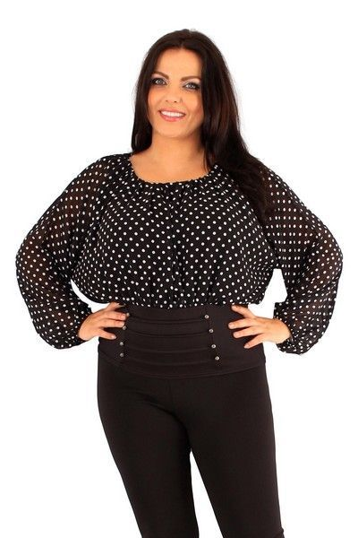Renate Polka Dot Corset Top (UK 22)