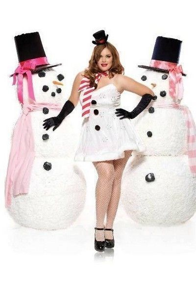 Winter Wonderland Plus Size Christmas Costume (UK 16-18)
